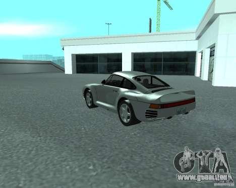 PORSHE 959 für GTA San Andreas linke Ansicht