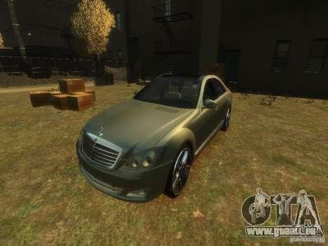 Mercedes-Benz W221 S500 für GTA 4