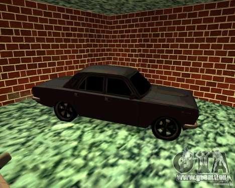 GAZ 24 v3 pour GTA San Andreas vue de droite