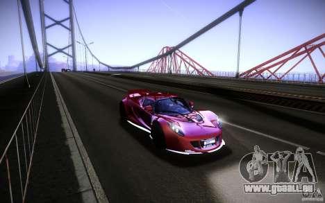 Hennessey Venom GT 2010 V1.0 für GTA San Andreas rechten Ansicht