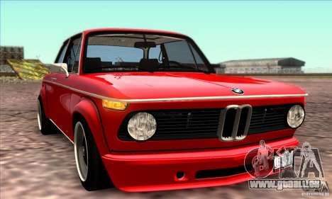 BMW 2002 Turbo pour GTA San Andreas salon
