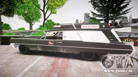 Cadillac Wildlife Control für GTA 4 rechte Ansicht