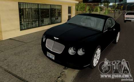 Bentley Continental GT V1.0 pour GTA San Andreas