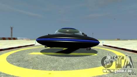 UFO neon ufo blue für GTA 4