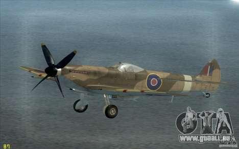 Spitfire pour GTA San Andreas