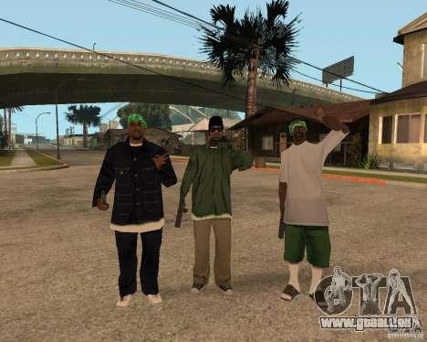 Ballasy's Grove für GTA San Andreas dritten Screenshot
