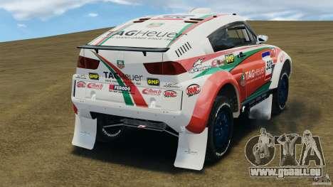 Mitsubishi Montero EVO MPR11 2005 v1.0 [EPM] pour GTA 4 Vue arrière de la gauche