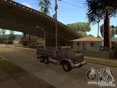 Ford Freightliner für GTA San Andreas linke Ansicht