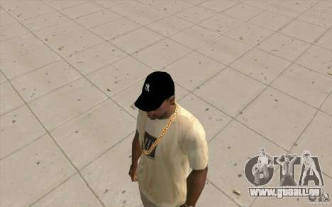 Cap newyorkyankiys noir pour GTA San Andreas