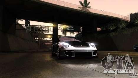 Porsche 911 GT2 RS 2012 pour GTA San Andreas vue de dessus