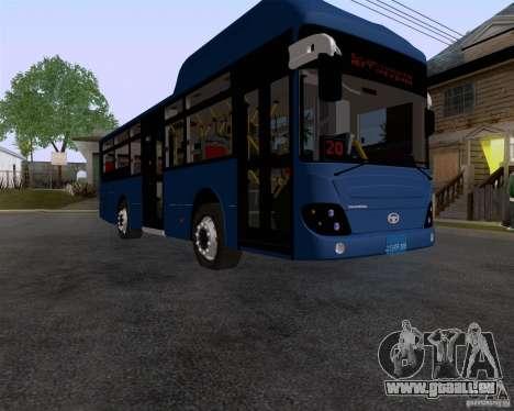 Daewoo Bus BAKU für GTA San Andreas rechten Ansicht