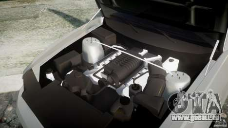 Ford Mustang V6 2010 Chrome v1.0 pour GTA 4 Vue arrière