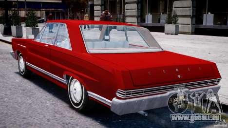 Ford Mercury Comet 1965 pour GTA 4 est un droit