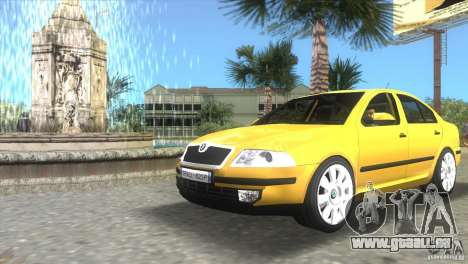 Skoda Octavia 2005 für GTA Vice City linke Ansicht