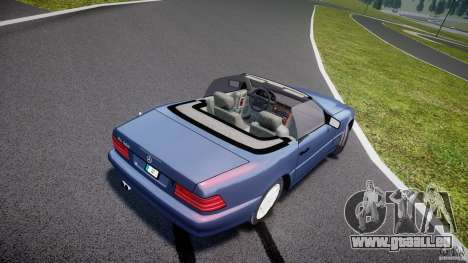 Mercedes-Benz SL500 pour GTA 4 est une vue de l'intérieur