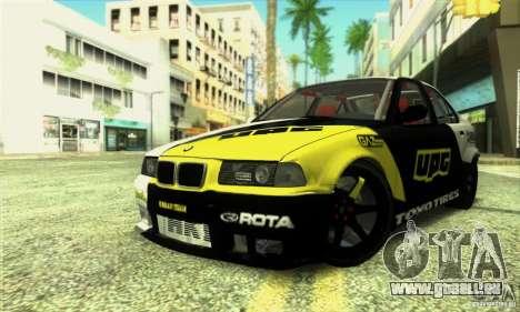 BMW E36 Urban Perfomance Garage pour GTA San Andreas