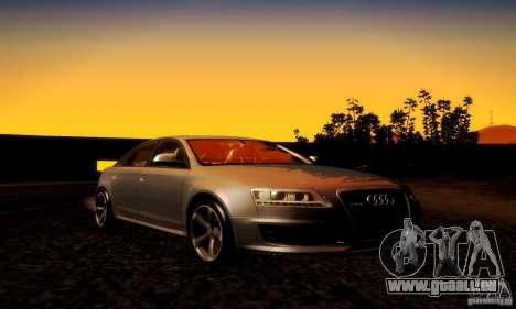 Audi RS6 TT für GTA San Andreas Seitenansicht