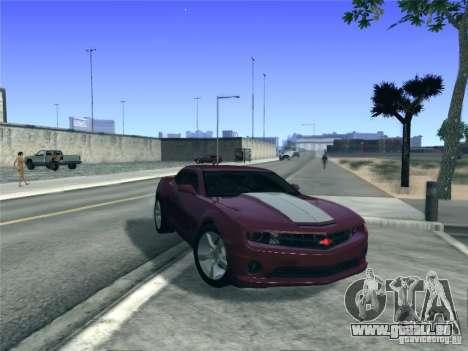 Chevrolet Camaro SS pour GTA San Andreas vue arrière