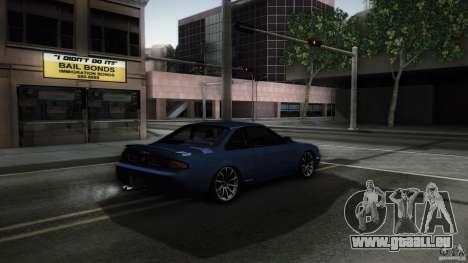 Nissan Silvia S14 Zenk für GTA San Andreas zurück linke Ansicht