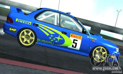 Subaru Impreza 1995 World Rally ChampionShip pour GTA San Andreas vue arrière