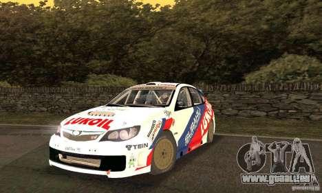 Subaru Impreza WRX STi Russia Rally pour GTA San Andreas
