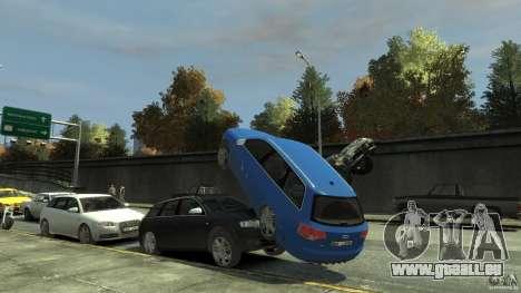 Audi S4 Avant für GTA 4 Innen