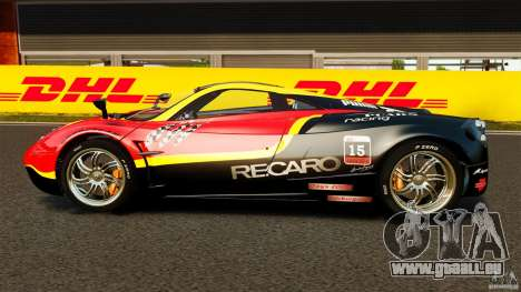 Pagani Huayra 2011 [EPM] für GTA 4 linke Ansicht