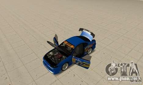Nissan Silvia INGs +1 für GTA San Andreas Rückansicht