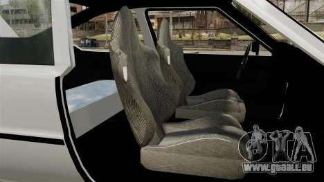 Skoda 120 Rapid v0.7 pour GTA 4 Vue arrière