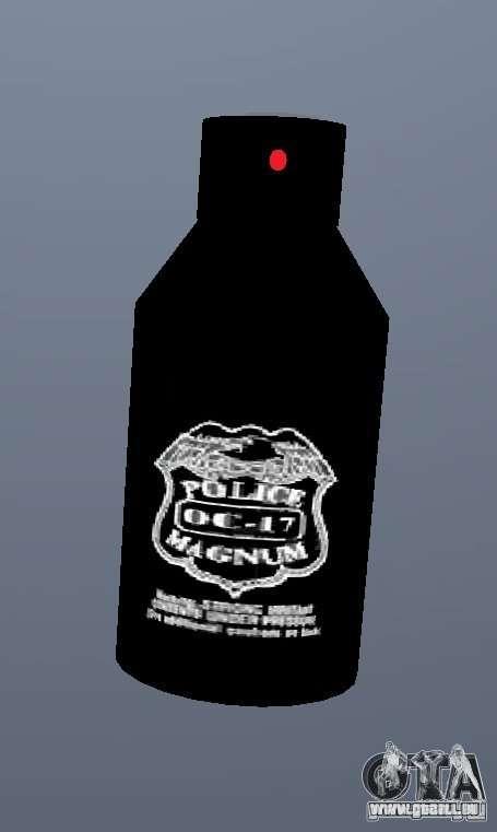 PepperSpray für GTA San Andreas