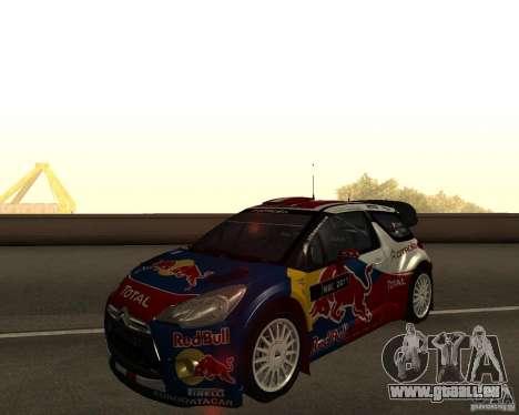 Citroen DS3 WRC für GTA San Andreas
