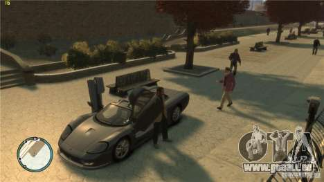 Realistisches fahren für GTA 4 Sekunden Bildschirm