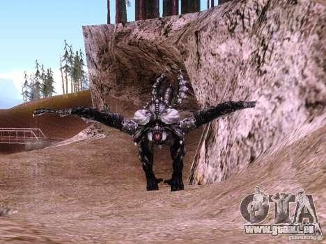 Dragon v2.0 pour GTA San Andreas deuxième écran