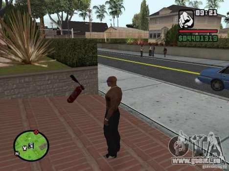 Nouvel extincteur pour GTA San Andreas