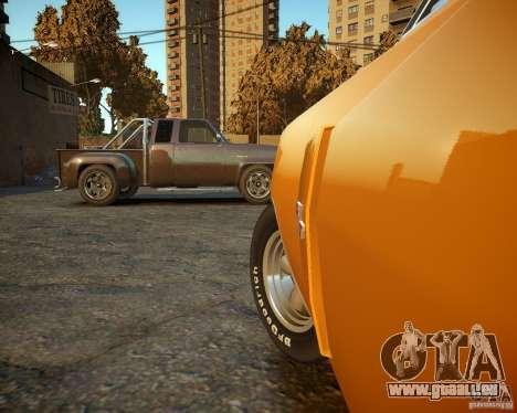 Dodge Charger Magnum 1970 pour GTA 4 est un côté