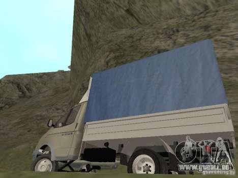 GAZ 3302 im Jahr 2001. für GTA San Andreas Seitenansicht