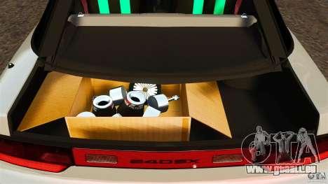 Nissan 240SX facelift Silvia S15 [RIV] pour GTA 4 vue de dessus