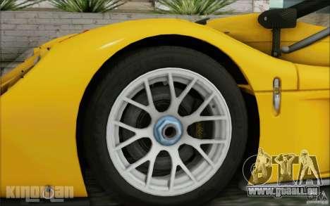 Radical SR3 RS 2009 pour GTA San Andreas sur la vue arrière gauche