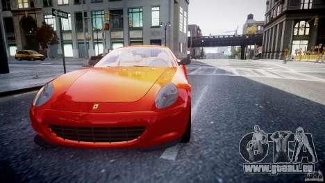 Ferrari 612 Scaglietti custom pour GTA 4 est un côté