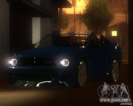Shelby Mustang 2009 für GTA San Andreas linke Ansicht