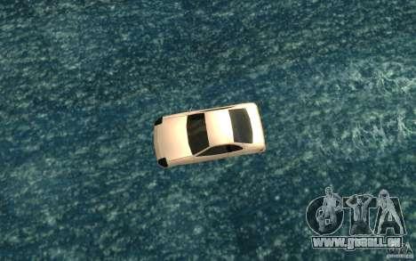 Alpha boat pour GTA San Andreas vue de droite