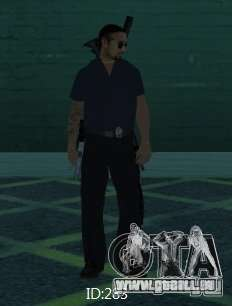 Nouveaux skins SAPD pour GTA San Andreas sixième écran