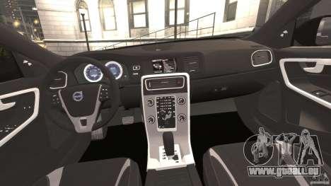 Volvo S60 R-Designs v2.0 für GTA 4 Rückansicht