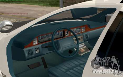 Chevrolet Caprice Police für GTA San Andreas Rückansicht