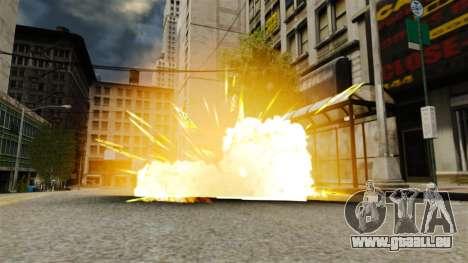 Le feu dans les mains de Geralt pour GTA 4 quatrième écran