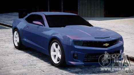 Chevrolet Camaro SS 2009 v2.0 für GTA 4 Seitenansicht