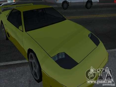 Couleurs plus vives pour les voitures pour GTA San Andreas troisième écran