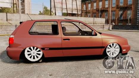Volkswagen Golf MK3 Turbo pour GTA 4 est une gauche