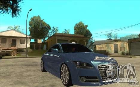 Audi TT 3.2 Coupe pour GTA San Andreas vue arrière