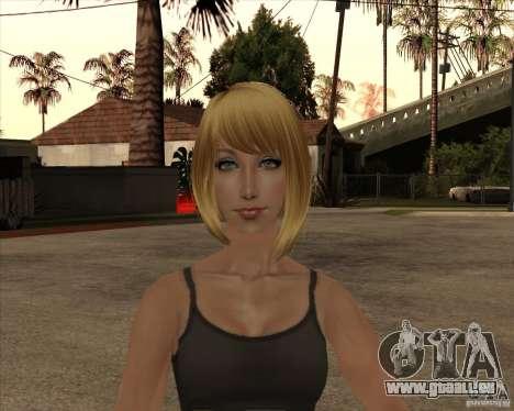Nouveau gangrl3 pour GTA San Andreas troisième écran
